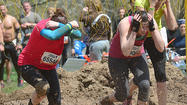 An Ellicott City, Md., man died Sunday at a Virginia hospital after participating in the Tough Mudder endurance series in Berkeley County on Saturday, police said.