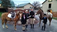 The St. James Pony Club announces the certification of Grace Kucienski and Sydney Cournaya from Unrated to D-1 at a testing held on April 16, 2013 at St. Charles Farm in St. Charles, IL. Grace is the daughter of Andrew and Nancy Kucienski of Winfield, IL and Sydney is the daughter of Eric and Shannon Cournaya of Geneva, IL.
