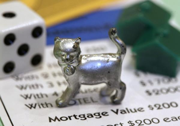Hasbro Inc. reported higher first-quarter sales and said a recent contest to name a new Monopoly token was successful.