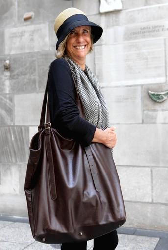 Laura Braghini, 55, fashion coordinator, Bologna, Italy: 6.5 lbs