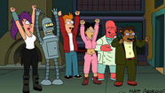 The animated cast of 'Futurama'