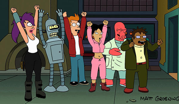 "Creator Matt Groening has seen his ""Futurama"" animated series come back from near-death before."