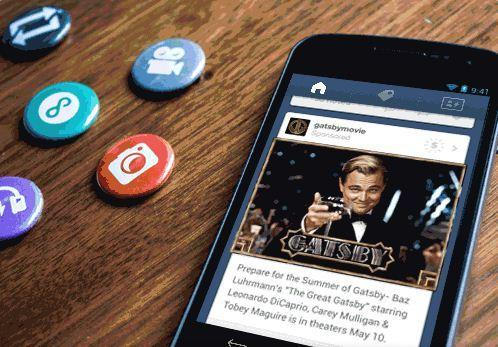 "Tumblr is rolling out mobile ""sponsored posts"" to users, including one by Warner Bros. advertising the film ""The Great Gatsby."""