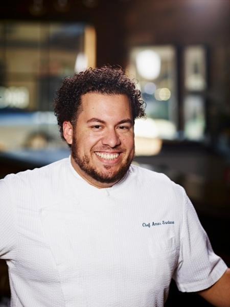 Amar Santana, chef of Broadway by Amar Santana in Laguna Beach.