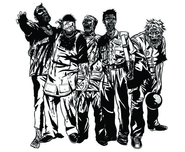 "The zombies from ""Map of the Dead"" chase you all over Chicago."