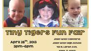 The Joliet West High School National Honor Society (NHS) is sponsoring the first ever Tiny Tigers Fun Fair on Sunday, April 28 from 3-6 p.m. at Joliet West. This fundraiser will honor Noah Galloy, Addison Locke and Ben Wisniewski, three children of JTHS staff members who have been diagnosed with severe illnesses.