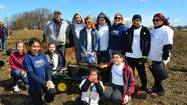 Employee volunteers from ComEd and its parent company Exelon worked alongside students from the Illinois Math & Science Academy planting oak trees as part of Arbor Day festivities with the Forest Preserve District of Kane County. The tree planting took place on Saturday, April 20, at the Fitchie Creek Forest Preserve, located in Elgin.