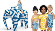 Diane von Furstenberg is bringing her signature prints and vibrant colors to Gap Kids and Baby Gap. The designer collaborated with the children's clothing line on a spring collection inspired by an African safari. The collection hits Gap Kids and Baby Gap stores April 25 and is Von Furstenberg's second collaboration with the brand.