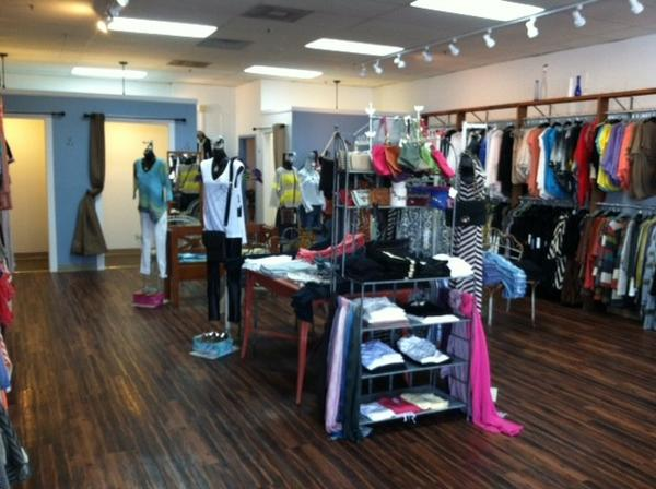 Alice B, which moved to Buffalo Grove in March, offers customers affordable women's fashions and accessories.