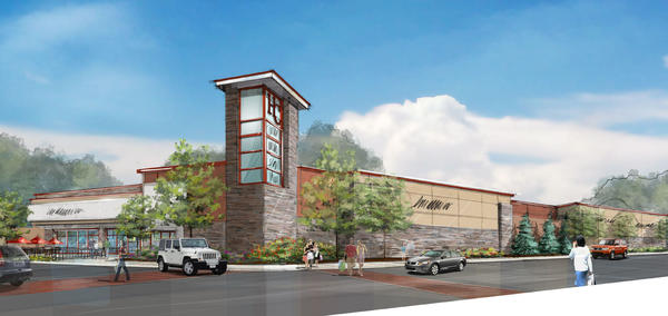 The proposed Hamilton Crossings shopping center in Lower Macungie Township.