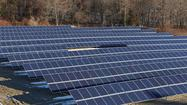 Aetna said Monday it is conducting finals tests on 975 solar panels that cover a field next to the insurer's Windsor office — doubling Aetna's solar energy capabilities in Connecticut.