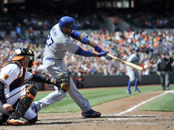 Matt Kemp is off to a slow start this season, and so are the Dodgers.