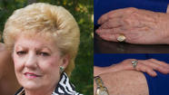 A $10,000 reward is being offered for anyone identifying the person who kidnapped and killed a 76-year-old Griffith, Ind., woman last month, said police, who also released photographs of two rings believed stolen from the victim.