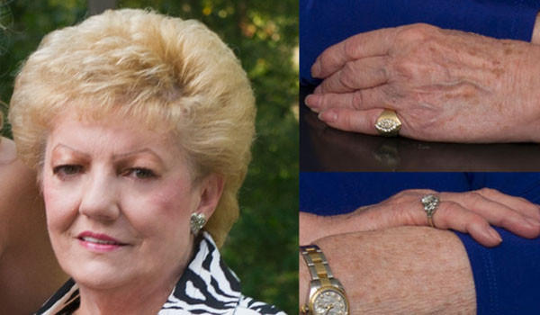 Mary C. Austgen, 76, was found shot to death in a parking lot at the Majestic Star Casino in Gary early March 29. On Monday, police released photos of two rings believed stolen during Austgen's abduction and slaying.