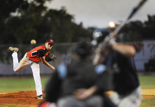 Northeast High pitcher Ralph Morel is hitting .533 at the top of the Hurricanes' lineup.
