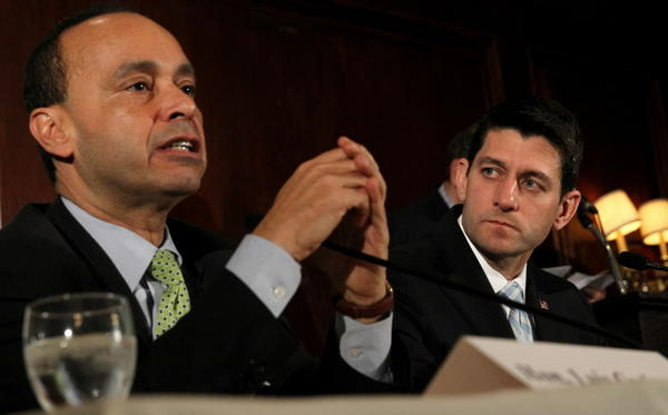 U.S. Reps. Luis Gutierrez and Paul Ryan discussed immigration reform at the City Club of Chicago today.