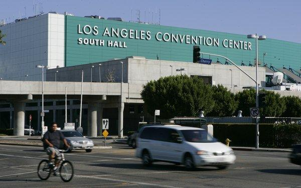 The Los Angeles Convention Center.