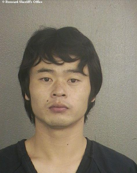 Huanhuan Shen, 27, was arrested and accused of stealing from his crew mates aboard the Royal Caribbean Cruise Lines Celebrity Eclipse cruise ship.