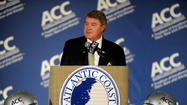 ACC commissioner John Swofford was portrayed as a modern-day Nero at the fiddle. The conference's presidents were mocked for their joint statement of solidarity.