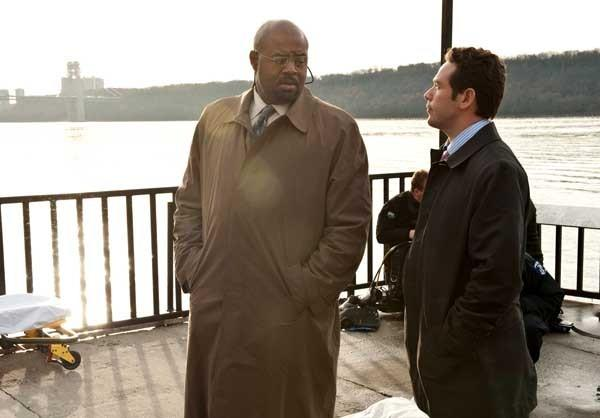 "A young model is murdered on ""Golden Boy,"" at 10 p.m. on CBS. With Chi McBride, left, and Kevin Alejandro."