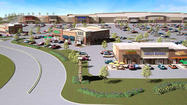 A half-empty former shopping mall in Eldersburg will be remade as a Walmart-anchored plaza under plans announced Monday by owner Black Oak Associates.