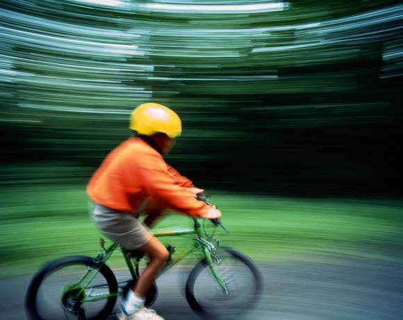 Wearing a helmet while riding is one of the most important things children can do to help prevent serious injuries.