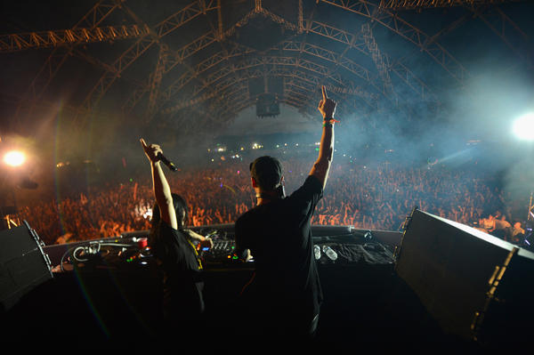 Skrillex, left, and Boys Noize of Dog Blood, at Coachella, will also be on the bill at HARD Summer 2013 in Los Angeles.