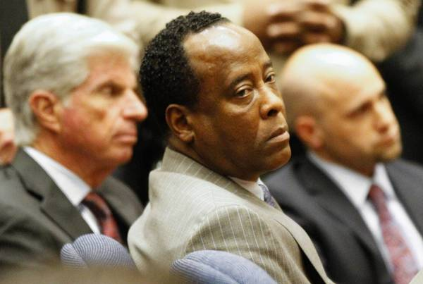 Dr. Conrad Murray was found guilty in 2011 on involuntary manslaughter charges in the death of Michael Jackson in 2009.