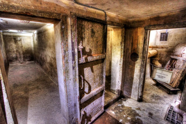 An underground bunker, used during the war in Vietnam, was uncovered at the Metropole hotel in Hanoi.