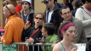 MSU student shown in photo of Boston bombers
