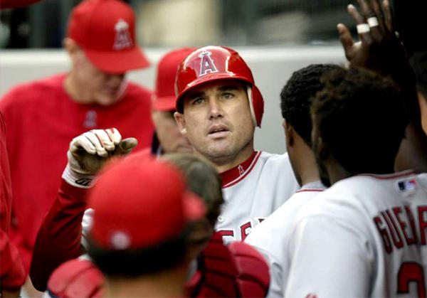 Former Angels outfielder Tim Salmon played most of 1998 with plantar fasciitis.