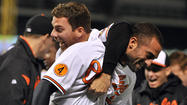 The moment seemed perfectly scripted for Orioles right fielder Nick Markakis.