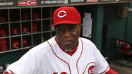 Reds manager Dusty Baker. (David Kohl/USA TODAY Sports photo)