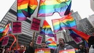 Activists Rally In Favor Of Same Sex Marriage In Chicago