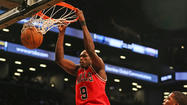 NEW YORK — It seemed appropriate when Luol Deng made a 21-foot jump shot on the Bulls' first field-goal attempt Monday night.