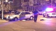 One man was killed and two were injured in a shootout that involved police in West Baltimore on Monday night, though details on what led to the shooting were still being determined Tuesday morning.