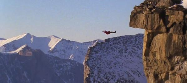One of many death-defying scenes from the Shane McConkey documentary 'McConkey'