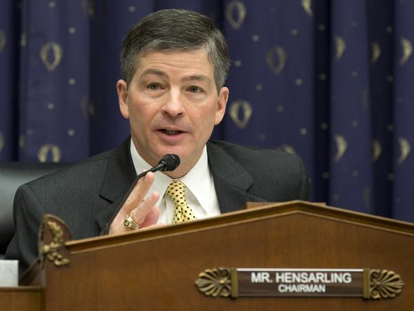 House Financial Services Committee Chairman Jeb Hensarling (R-Texas).
