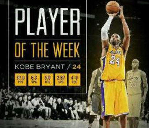 Kobe Bryant posted this photo on his Facebook page.