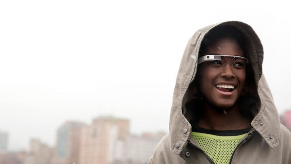 Google Chairman Eric Schmidt said the general release of Glass is still about a year away.