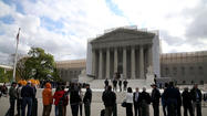 "WASHINGTON -- The Supreme Court has extended some leniency to legal immigrants who are convicted of having a small amount of marijuana, ruling that such a crime is not an ""aggravated felony"" that leads to deportation."