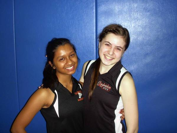 Pruthvi Patel and Samantha Nitti