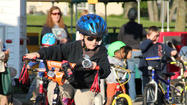 Show off cycling skills at Safety Park!