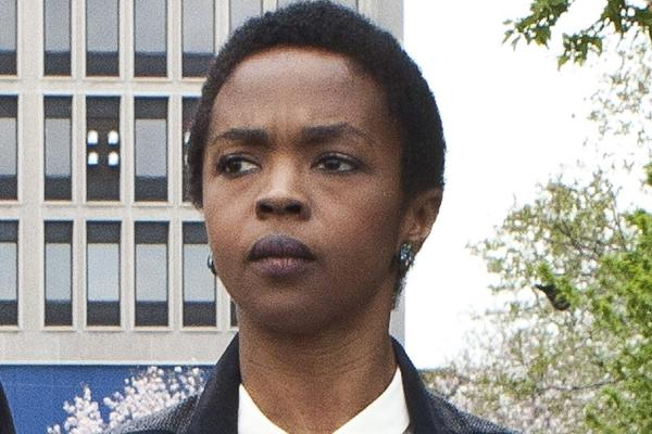 Singer Lauryn Hill leaves federal court in Newark, N.J.