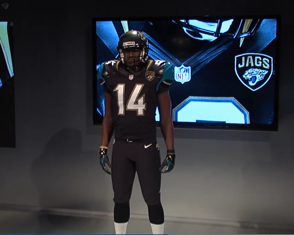 New Jacksonville Jaguars uniforms by Nike ( Jaguars.com/Nike / April ...