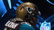 The Jacksonville Jaguars' new uniforms were unveiled Tuesday afternoon in Jacksonville.