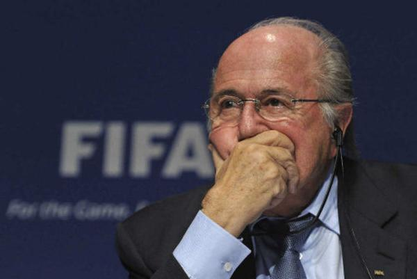 FIFA president Sepp Blatter was the victim of Twitter hackers on Monday.