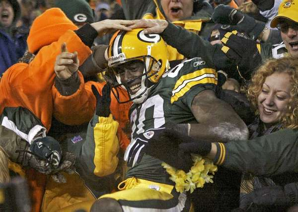 Donald Driver was a fan favorite when played for Green Bay.