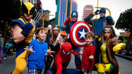At Marvel Super Hero Island at Universal's Islands of Adventure, guests are forever caught in an epic battle between Marvel super heroes and super villains.