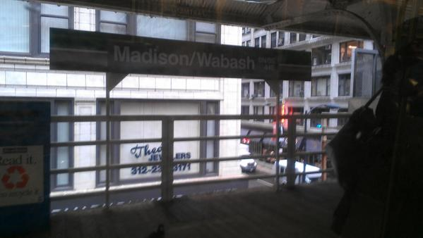 The Madison/Wabash station will be consolidated with the Randolph/Wabash station.
